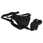 PANNOVO PU Leather Wrist Strap Grip for DSLR Camera - Black