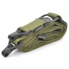 Tactical Military Multi-Mission Gun Sling Strap - Army Green (1.5m-Length)