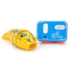 38mhz 2-ch ir controlled caterpillar toy - yellow (3 x l1154)