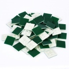 Adhesive Cable Tie Base Mount (100-Piece Pack / 28 x 28 x 4mm)