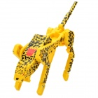 Cool Leopard Transformer USB 2.0 Flash Drive - Yellow + Black (8GB)