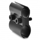 Aluminum Alloy Universal Gun Mount for Flashlight - Black