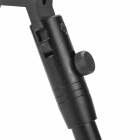 Tactical Retractable Bipod Rifle Stand - Black