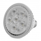 E27 6W 600LM 6000~6500K White Light 6-LED Spot Light Bulb (AC 85~265V)