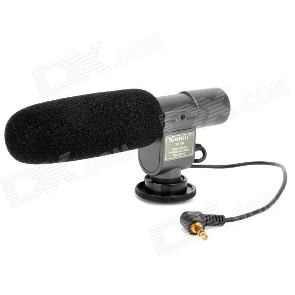 Professional Stereo Microphone for DV - Black + Grey (1 x CR2)
