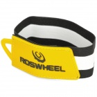 Roswheel Convenient Tie-on Pants / Trousers Rubber Band (28cm) - Yellow + Black + White