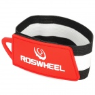 Roswheel Convenient Tie-on Pants / Trousers Rubber Band (28cm) - Red + White + Black