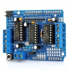 2-Channel Motor Driver Shield for Arduino (Works with Official Arduino Boards)