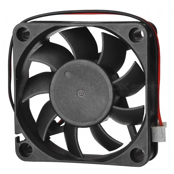 6015S DC 12V 0.3A Brushless Cooling Fan (6 x 6cm) 5010s dc 12v 0 1a brushless cooling fan 4 2cm diameter href