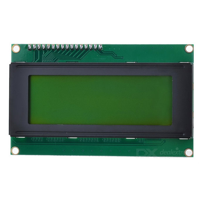 IIC / I2C Serial 3.2 LCD 2004 Module Display for Arduino (Works with Official Arduino Boards) 0 36 led 4 digit display module for arduino black blue works with official arduino boards