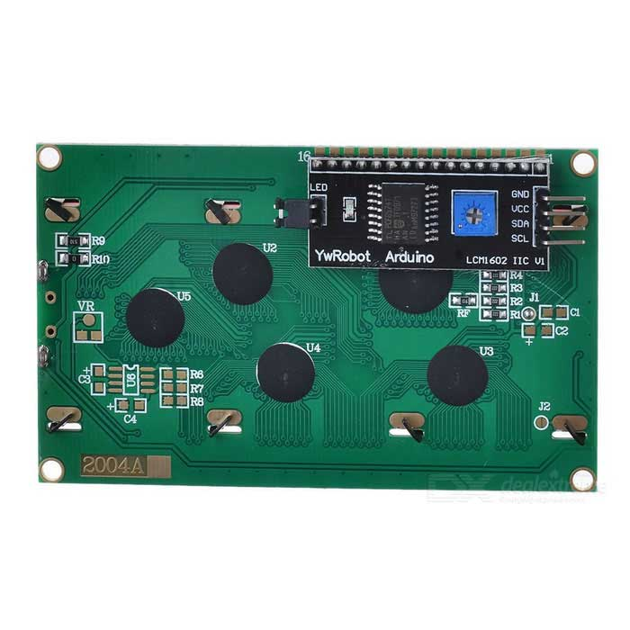 Iic i c serial quot lcd module display for arduino