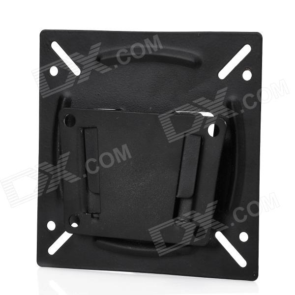 Ultra-Slim Steel Wall Mount Arm Bracket for LCD TV Monitor - Black
