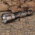 New-C80-1 Cree XM-L T6 1000LM 5-Mode White Light Flashlight - Coffee (1 x 18650)