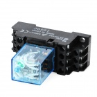 5A 24V Electromagnetic Relay - Black + Blue