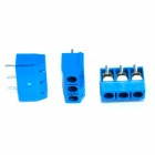 3 Pin 5.0mm Terminal Blocks Connectors - Blue (20PCS)