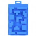 Silicone Brick Design Ice Cubes Maker DIY Mould - Blue