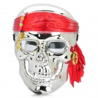Galvanotechnik Silber Pirate Skull Face Mask