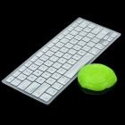 Silver Silicone Keyboard Cover Skin for Macbook 13.3'' & 15.4'' Laptops + Magic Super Clean Putty