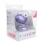 Heart Style USB 2.0 2.0MP PC Camera Webcam with Microphone / 3-LED Night Vision Light - Deep Purple