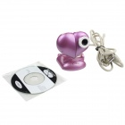 Heart Style USB 2.0 2.0MP PC Camera Webcam with Microphone / 3-LED Night Vision Light - Rosy