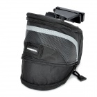 Roswheel Cycling Bicycle Bike Saddle Seat Tail Bag - Black
