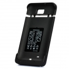 3500mAh External Mobile Power Battery Case for Samsung i9220 - Black