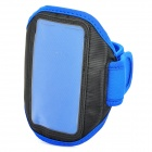 Sports Gym Arm Band Case + Screen Protector Set for HTC ONE X S720E / HTC ONE S Z520E - Blue