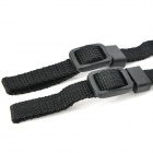 Adjustable PU Leather Neck / Shoulder Sling Strap for DSLR / SLR Camera - Black