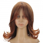 Fashion Medium Curly Hair Wigs - Brown