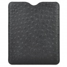 Stylish Protective PU Leather Pouch Case for Ipad / Ipad 2 / The New Ipad - Black