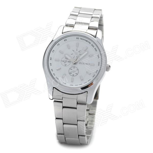 DINIHO Lady's Stainless Steel Quartz Wrist Watch (1 x LR626) diniho fashion men s stainless steel round dial quartz wrist watch black silver 1 x lr626