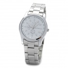 DINIHO Lady's Stainless Steel Quartz Wrist Watch (1 x LR626)