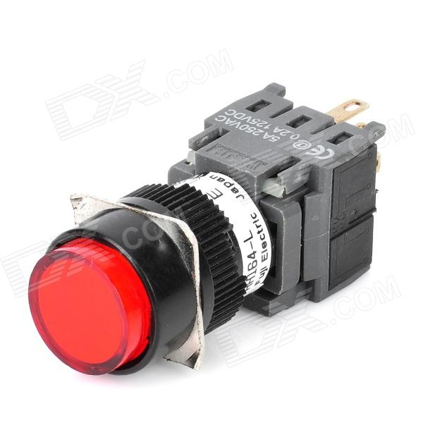 DIY 6-Pin Push Button Switch with LED Red Light