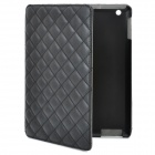 Protective PU Leather Case for iPad 2 / New iPad - Black