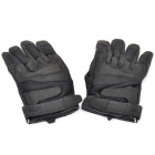 Blackhawk Tactical Outdoor Full Finger Gloves - Black (Pair/Size-XL)