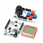 "Freaduino ATMega328 + Joystick Schild Erweiterte Rocker Panel + Nokia 5110 1,7 ""LCD Display"