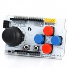 "Freaduino ATMega328 + Joystick Shield Extended Rocker Panel + Nokia 5110 1.7"" LCD Display"
