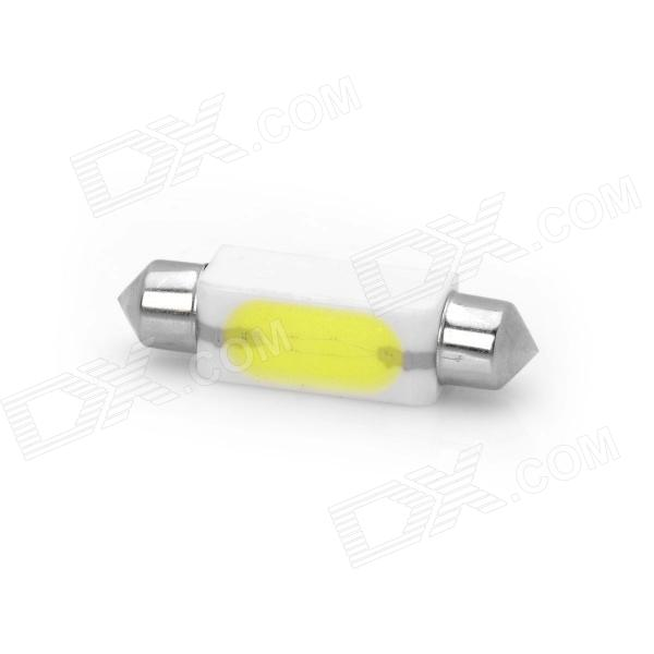 Festoon 41mm 2W 85~105LM 6000~6500K LED White Light Ceramics Car Reading Lamp (12~14V / 1Piece)