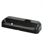 Portable Charging Docking Station Cradle for HTC ONE S - Black