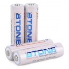 2100mAh Ni-MH Rechargeable AA Low Self Discharge Batteries - White (4-Piece Pack)