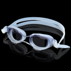 High Quality Anti-Fog PU & UV Lens Swimming Goggles Glasses - Purple Shades