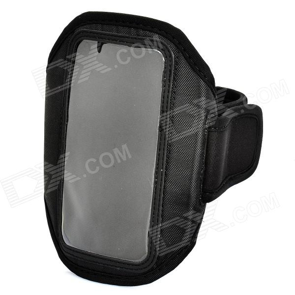 Trendy Outdoor Sports Arm Band for HTC ONE X / S720E / ONE S / Z520E - Black
