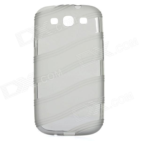 Protective Silicone Case for Samsung Galaxy S3 i9300 - Grey
