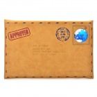 Retro Envelope Style Protective Fiber leather Sleeve for MacBook Air 11.6'' Laptop - Brown