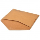 Retro Envelope Style Protective Fiber Sleeve for MacBook Air - Brown