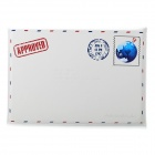 Retro Envelope Style Protective Fiber Leather Sleeve for MacBook Air 13.3'' Laptop - White