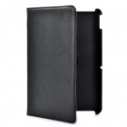 360 Degree Rotatable Protective Flip Open Hard Cover Case & Stand for Acer Iconia Tab A200 - Black