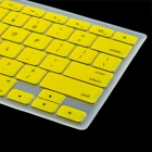 "Protective Silicone Keyboard Cover Skin Protector Guard for MacBook 13.3"" & 15.4'' Laptops - Yellow"