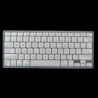 "Protective Silicone Keyboard Cover Skin Protector Guard for MacBook 13.3"" & 15.4'' Laptops - Silver"