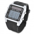 Solar Power Digital LCD Display LED Wrist Watch (1 x CR2032)